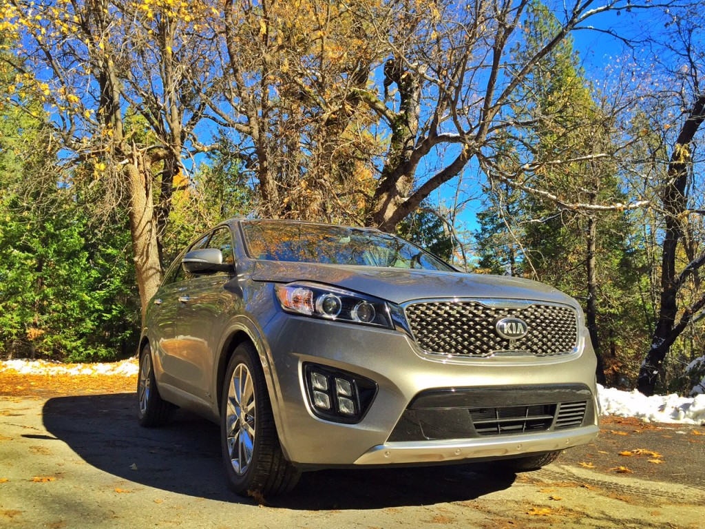 Kia Sorento in Yosemite