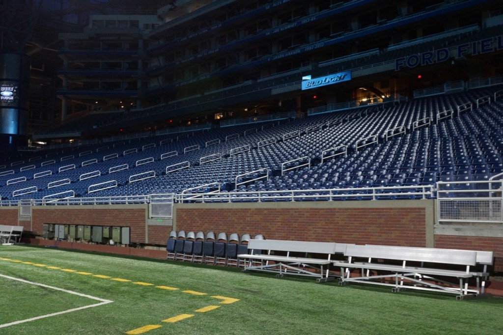 Behind the scenes of Ford Field