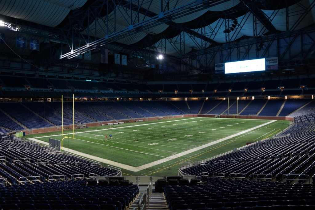 Detroit Lions Football Field