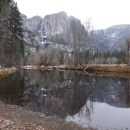See Yosemite Falls from The Swinging Bridge Trail in Yosemite National Park
