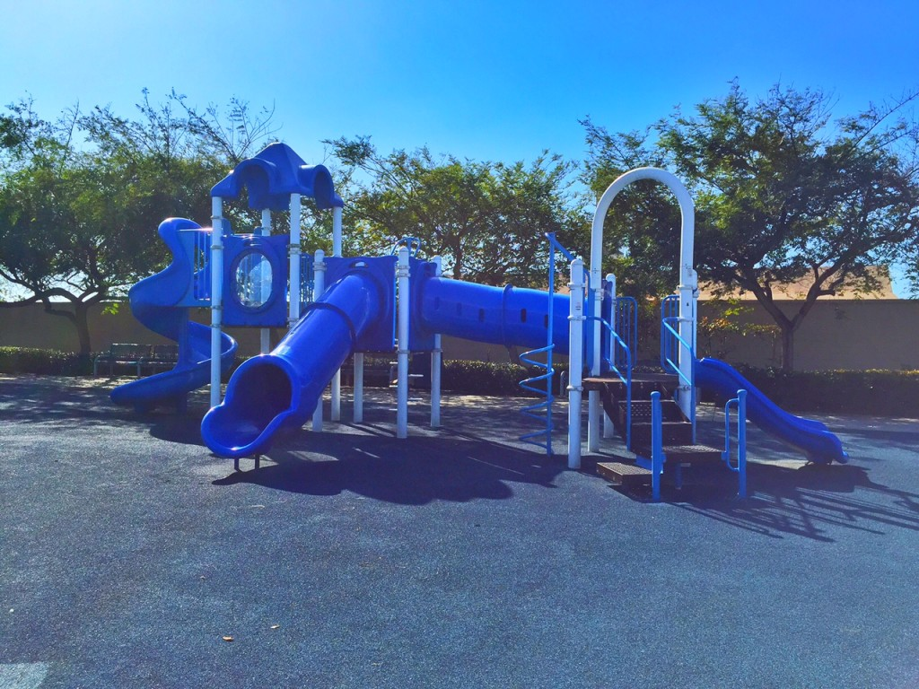 Toddler structure at Pattinson Park