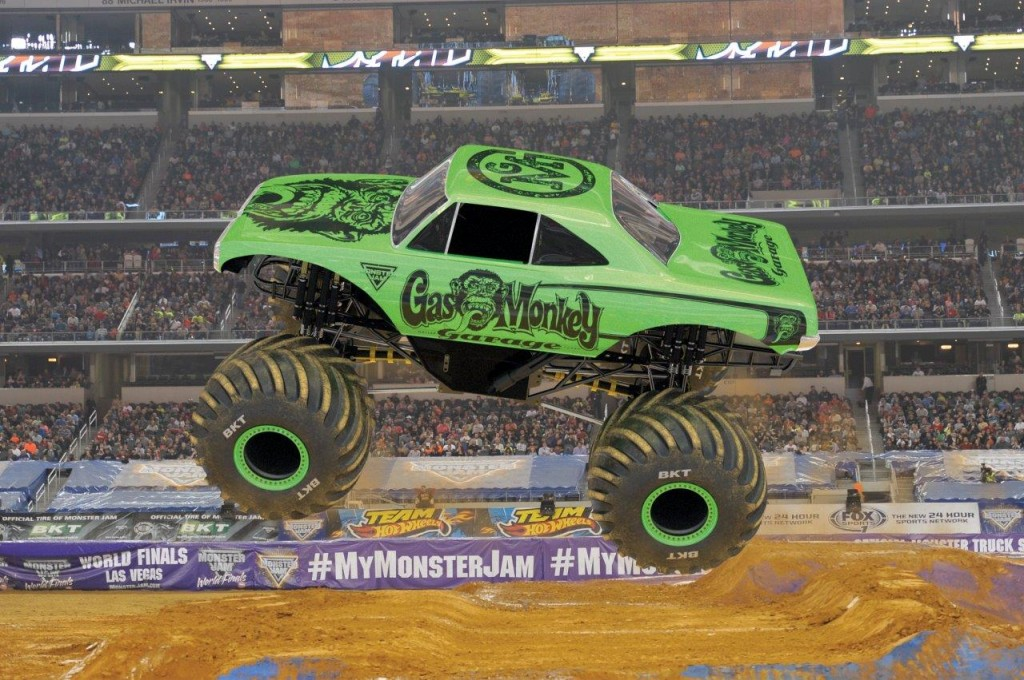 gas monkey mockscene Monster Truck