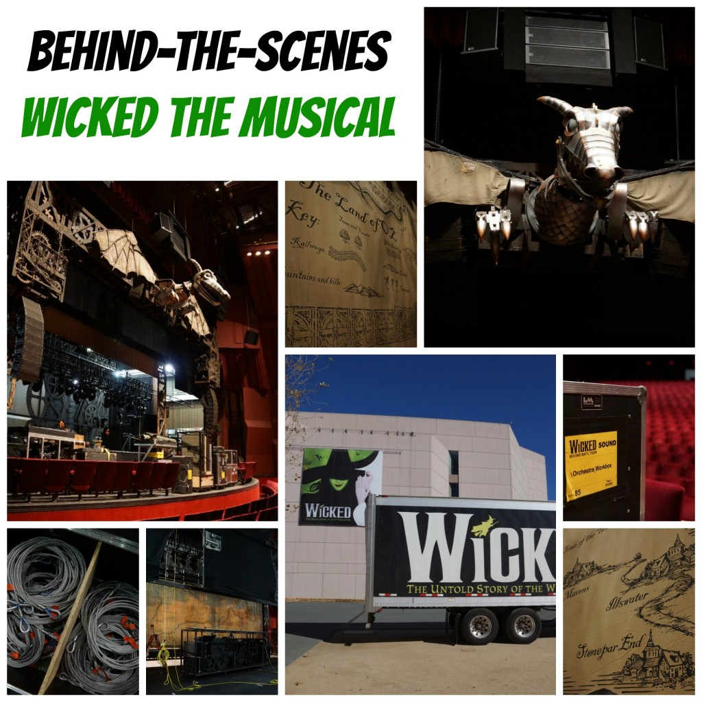 Behind the Scenes of Wicked the Musical