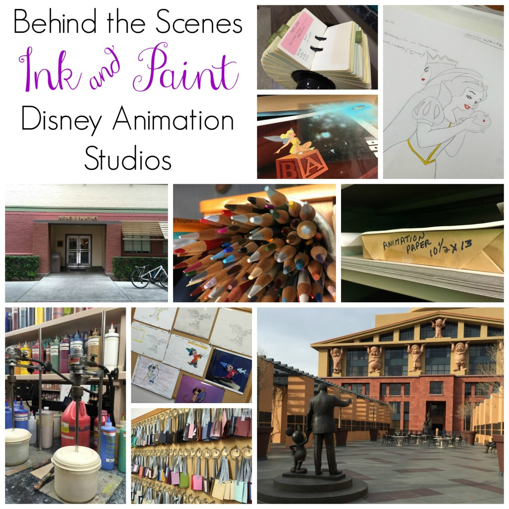 Behind the scenes of Ink & Paint at Disney Animation Studios