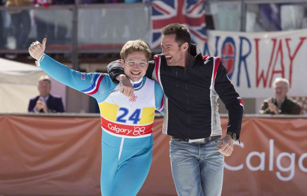 Hugh Jackman in Eddie the Eagle