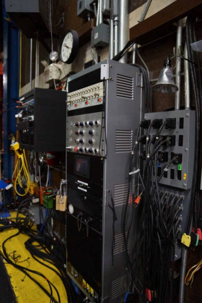 Electrical supply at Segerstrom