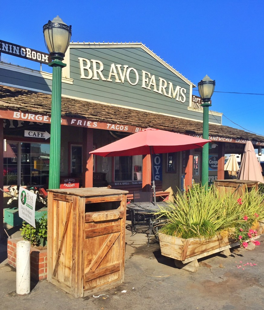 Front of Bravo Farms