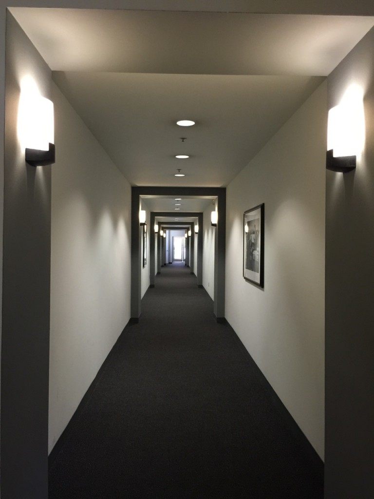 Hallway to the animation ink & paint department