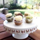 Fruit and Veggie Infused Cupcakes via Fluffy Buns Bakery
