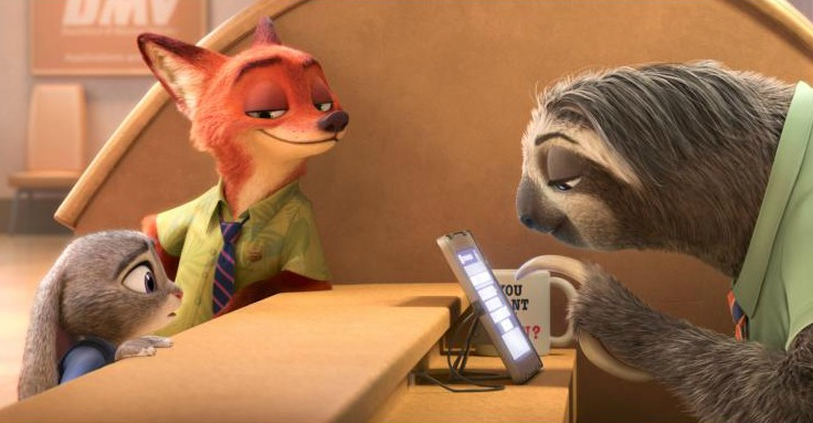 The Sloth Scene in Zootopia