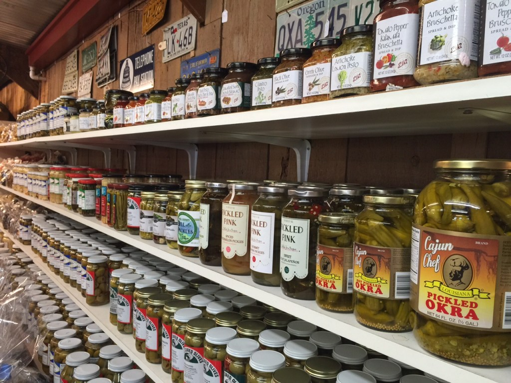 Things for sell at Bravo Farms