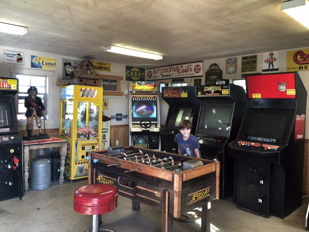 Video game room