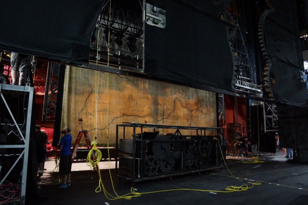 backstage of wicked