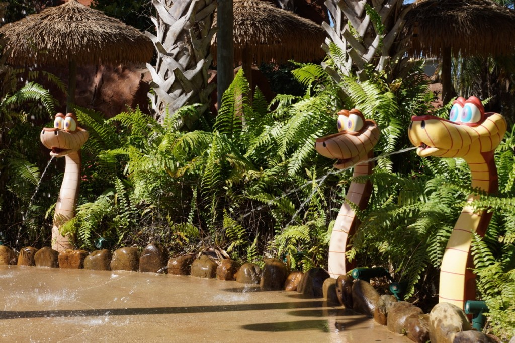 water features at animal kingdom