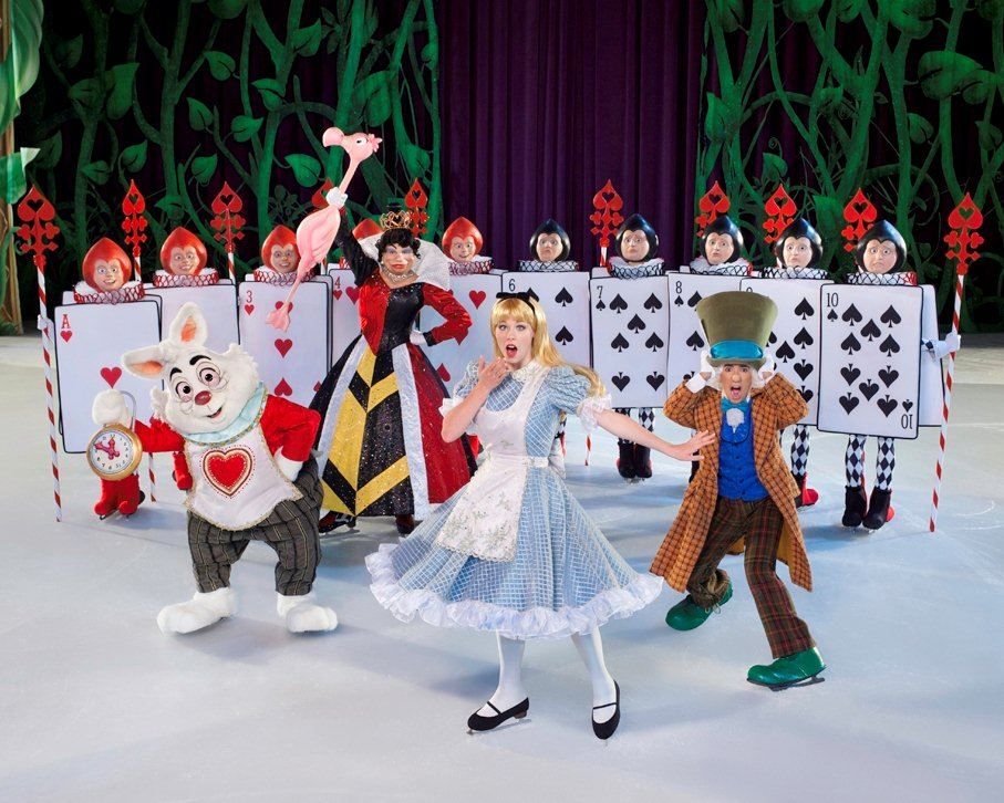 Alice in Disney on Ice