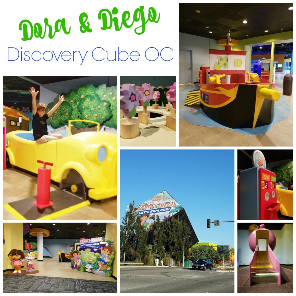 Dora and Diego Let's Explore at Discovery Cube OC