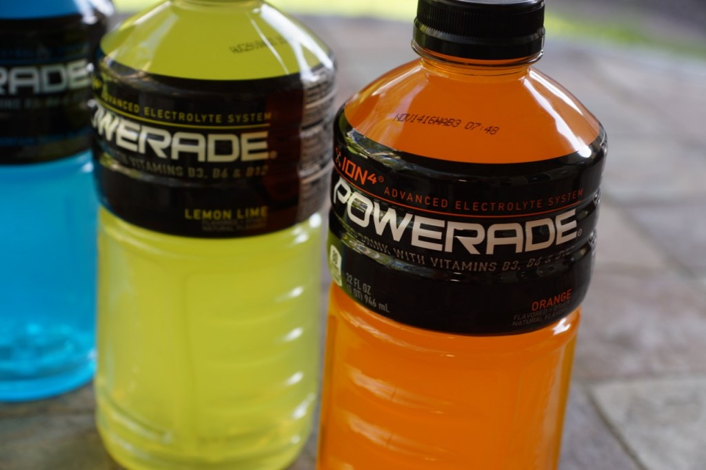 Fueling athletes with powerade