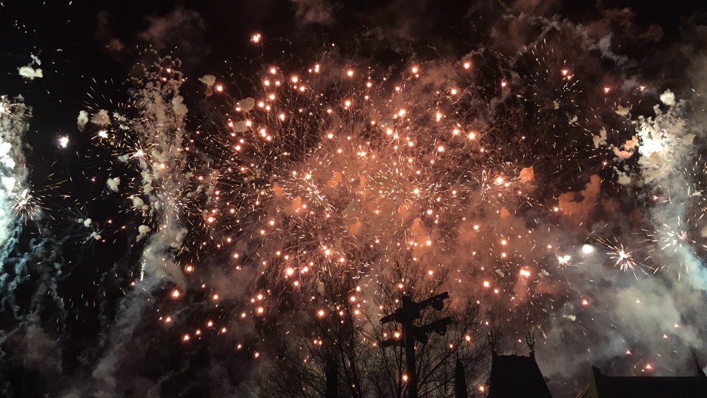 Star Wars Disney World Firework