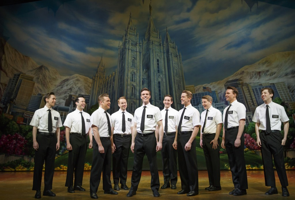 The Book of Mormon at the segerstrom center for the arts