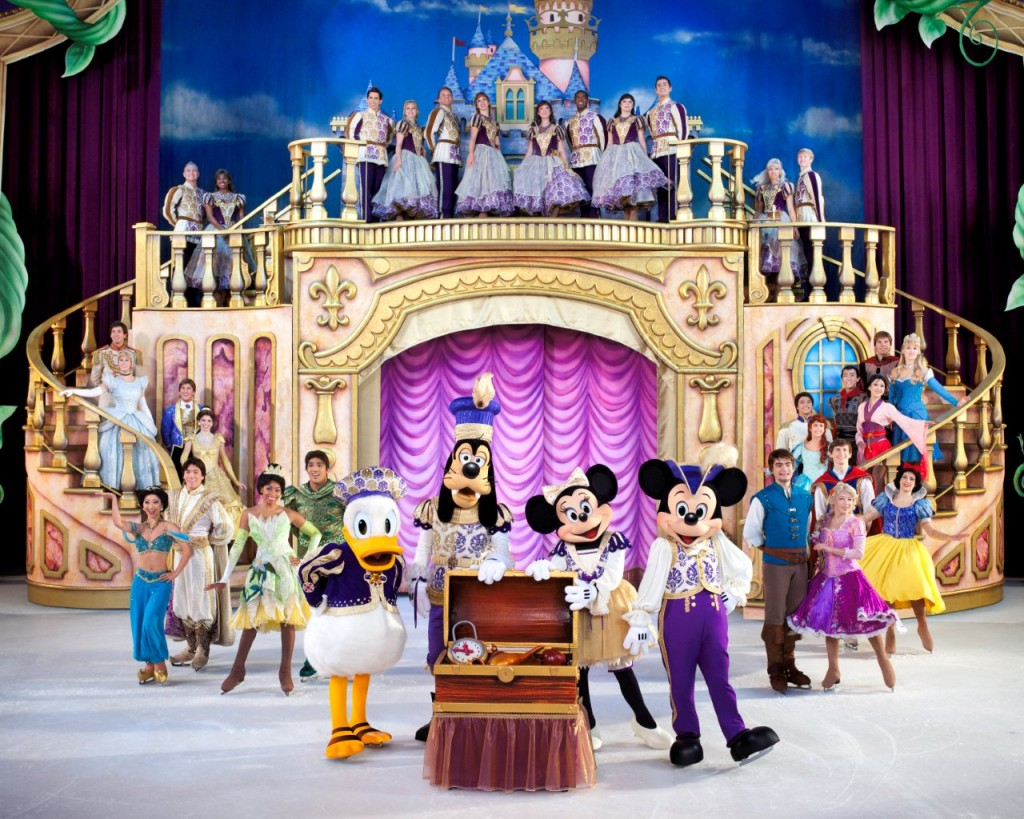 The Finale of Disney on Ice