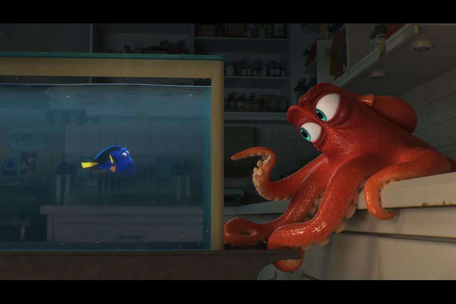 The movie Finding Dory
