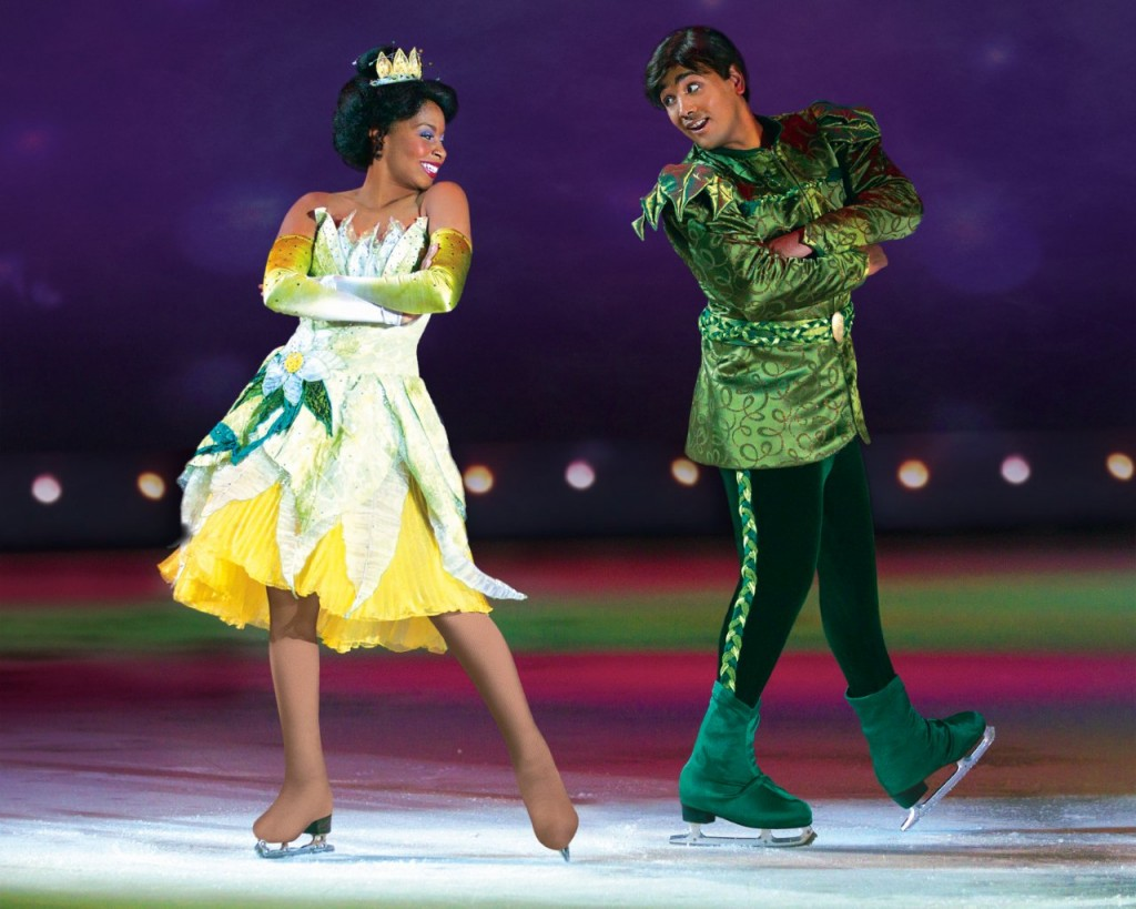 Tiana & Naveen in Disney on Ice