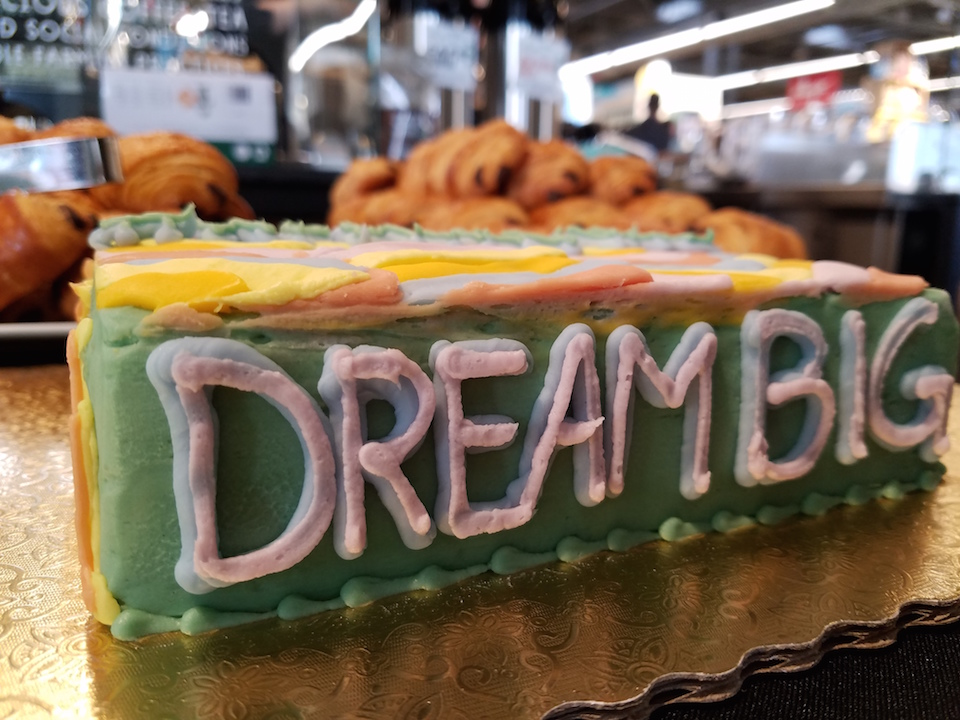 dream big cake