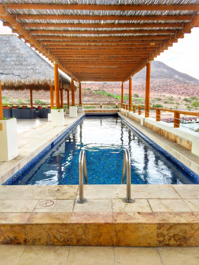 Lap pool at Costa Baja Resort & Spa