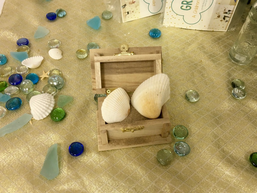 Mermaid decorations at Grace + Zen
