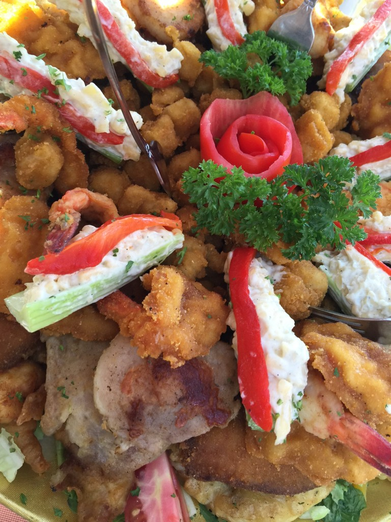 Seafood Platter at Bismarkcito in La Paz