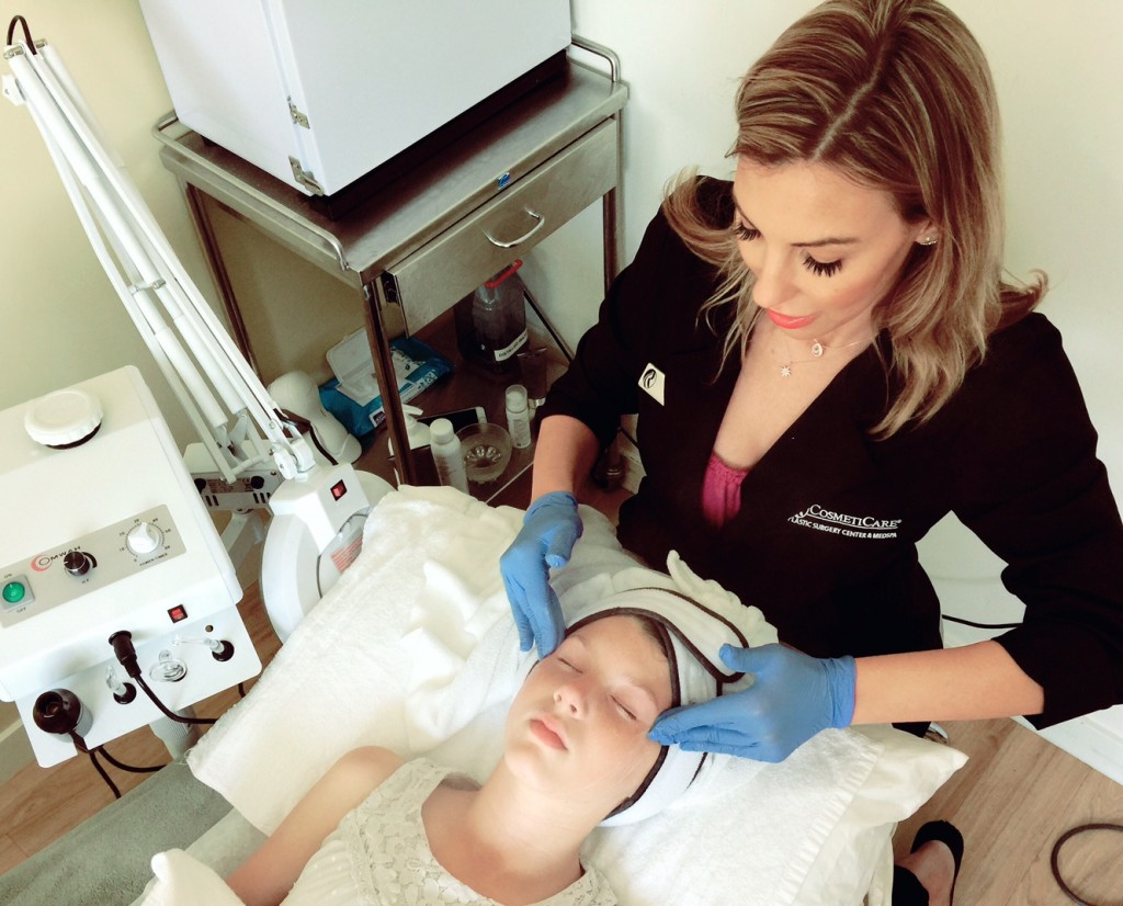 Teen Facial at CosmetiCare