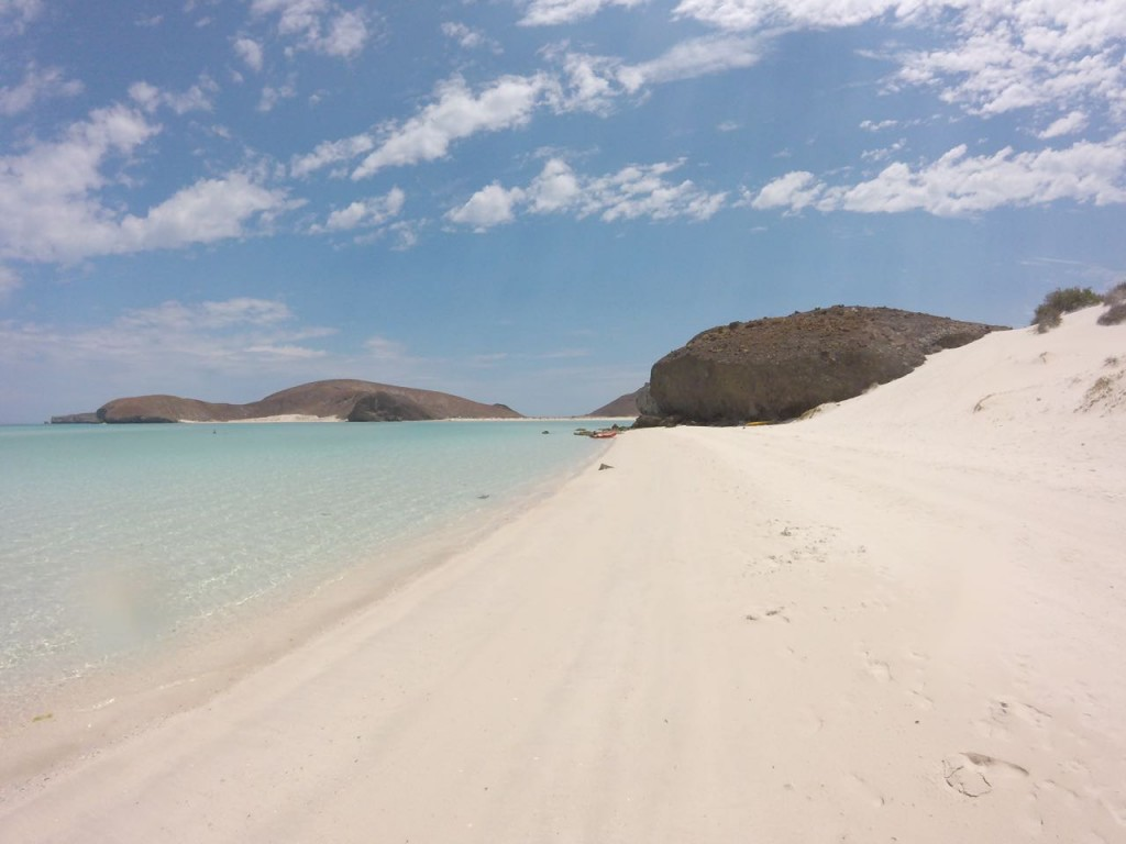 Walking on the La Paz Beaches