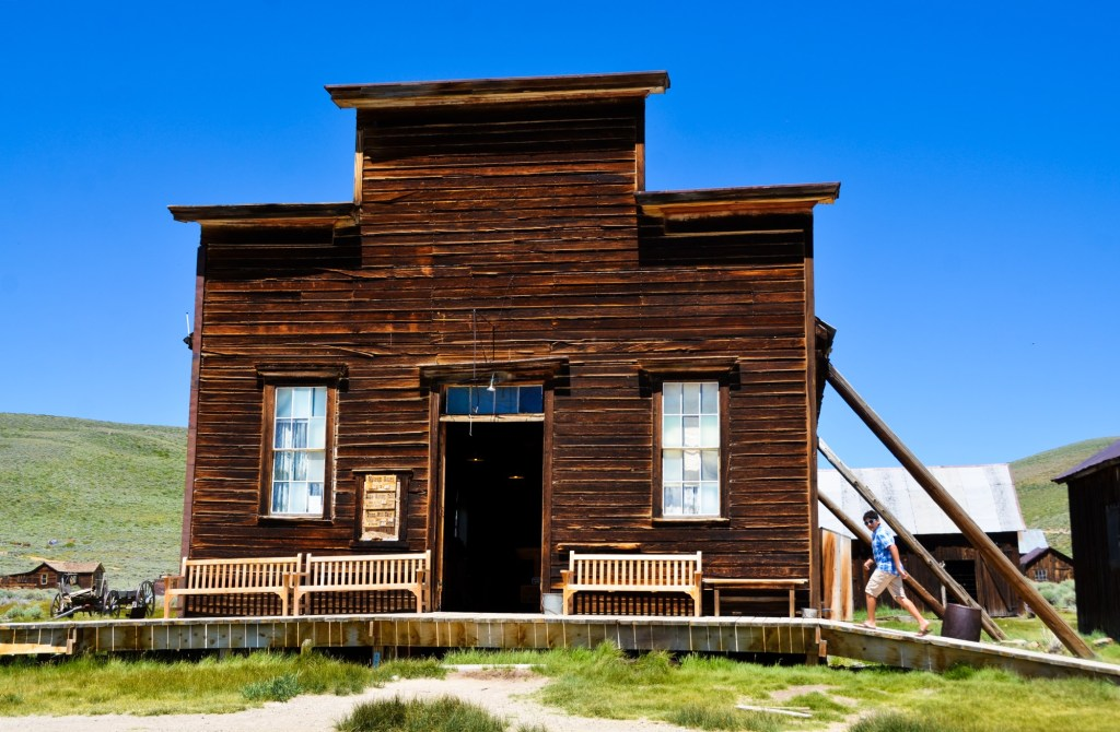 Cool old building in Bodie