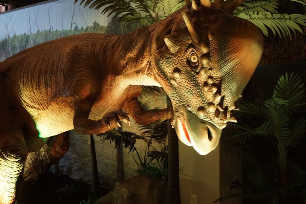 Dinosaurs come to life
