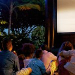 Hotel Irvine Summer Movie Nights in the Backyard