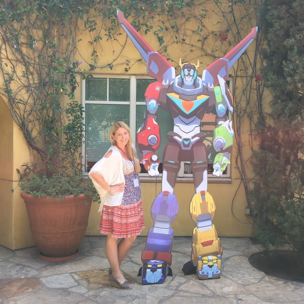 Shelby with Voltron
