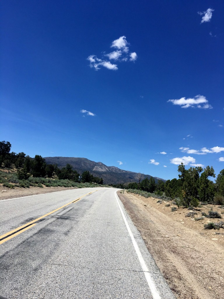 The road that leads to Bodie