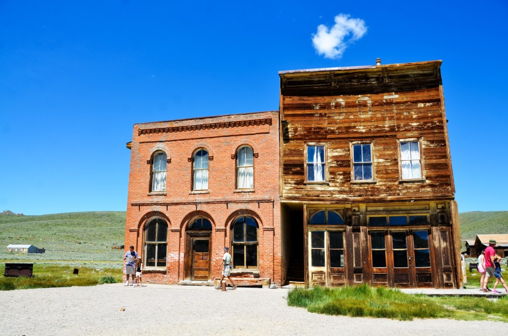 learning about history at Bodie