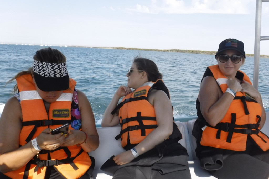 ready to swim with whale sharks