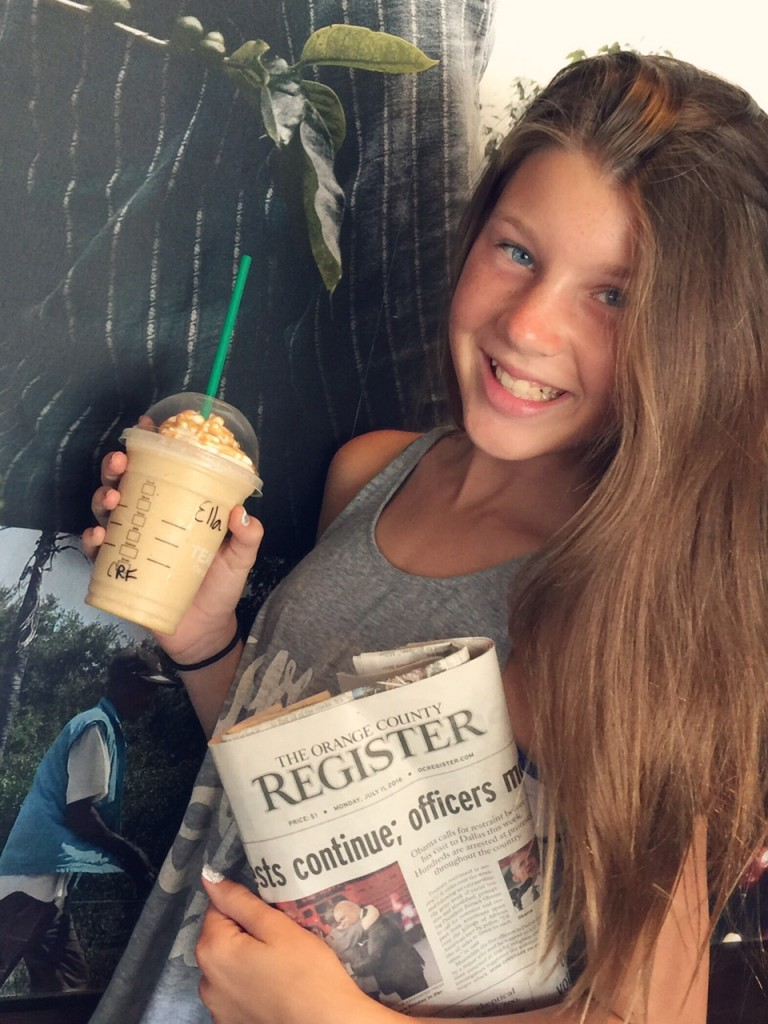 Coffee and the OC Register
