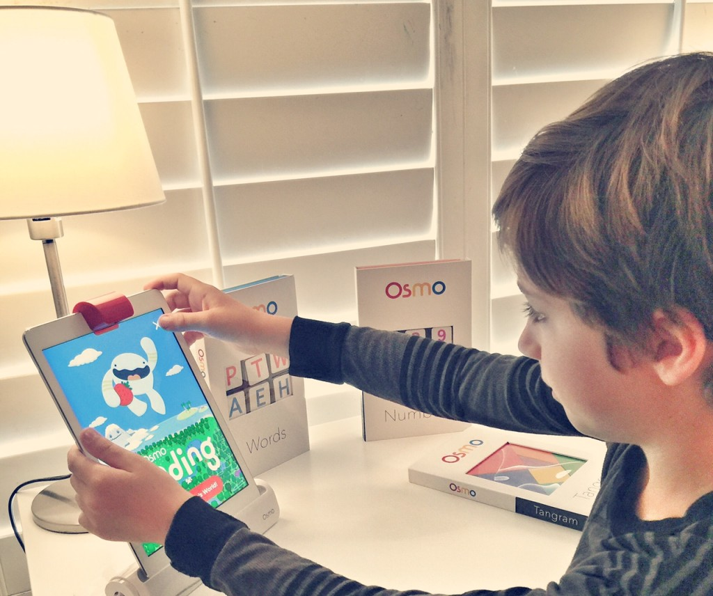 Learning to read with Osmo