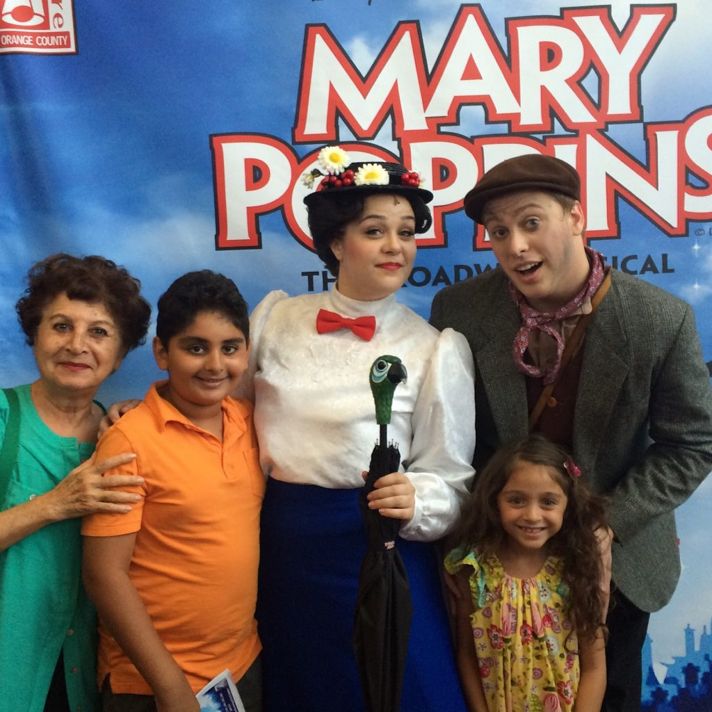 Mary Poppins at the Musical Theatre