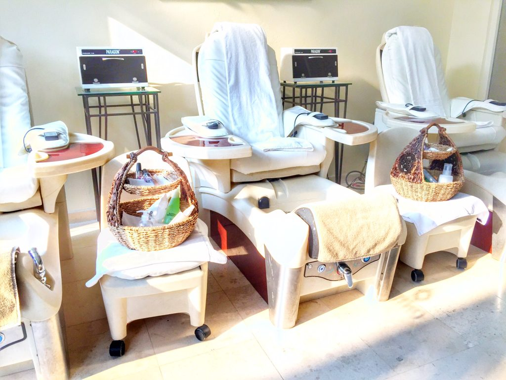 Nail Salon at Marriott Puerto Vallarta