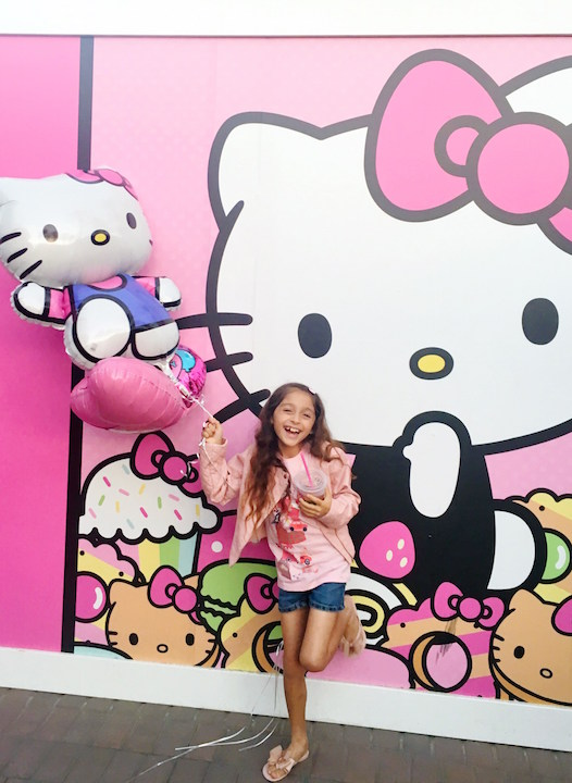 Opening of the Hello Kitty Cafe in Irvine