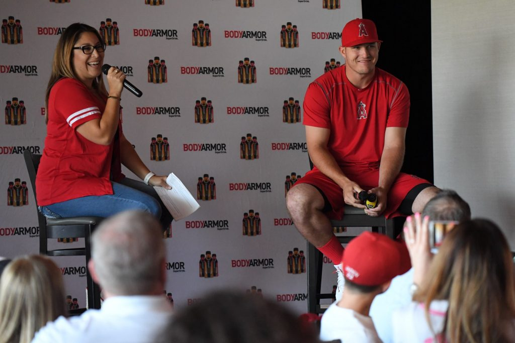Q&A with kids and Mike Trout