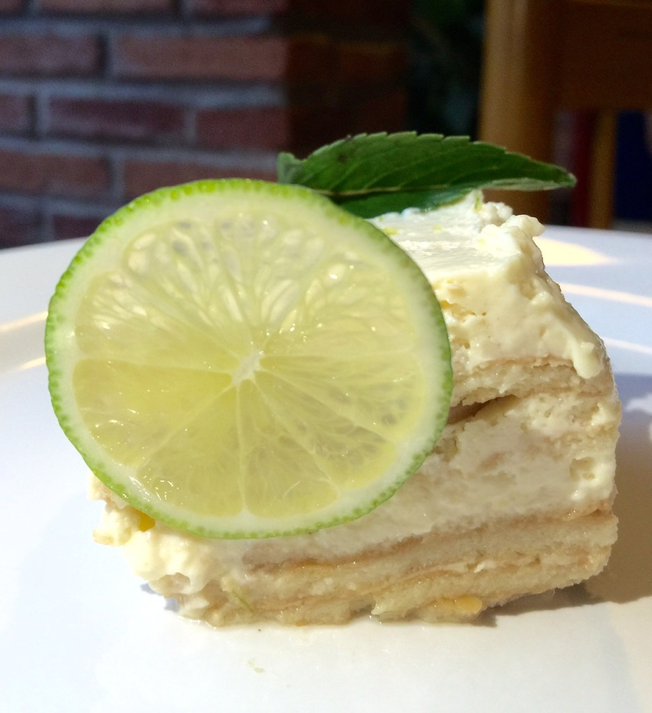 Tequilla Lime Cake at El Arrayán