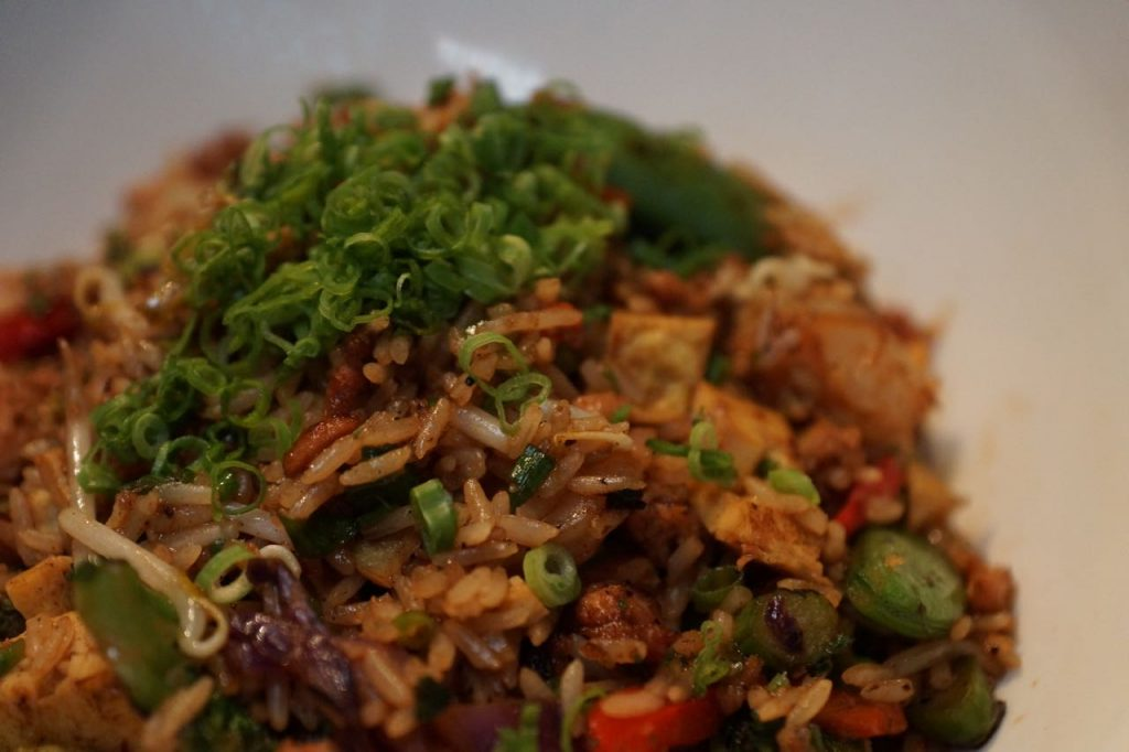 fried rice at Cafe Japengo