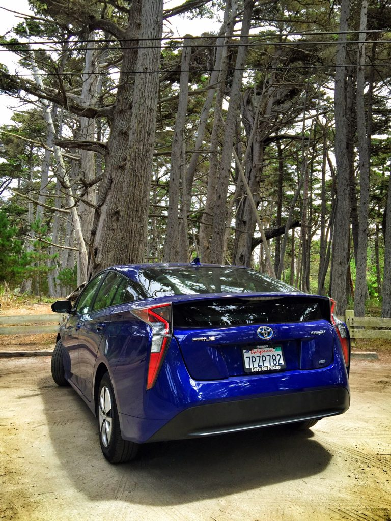 Exploring with the 2016 Prius