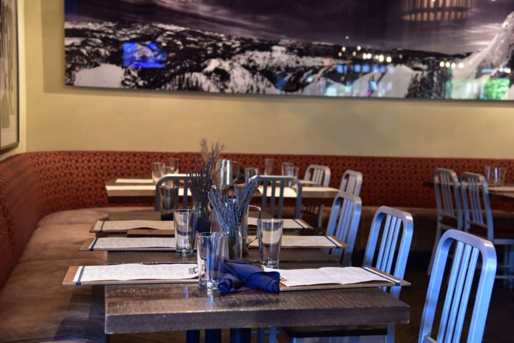Family-friendly dining at Rocker Squaw