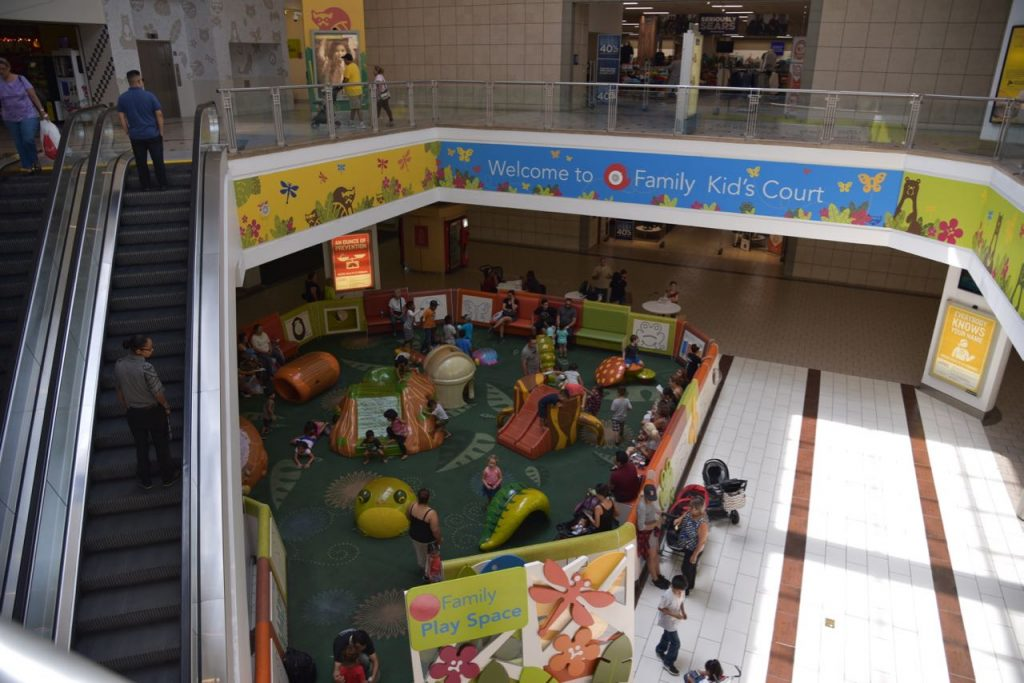 Kids Play area at West Covina Mall